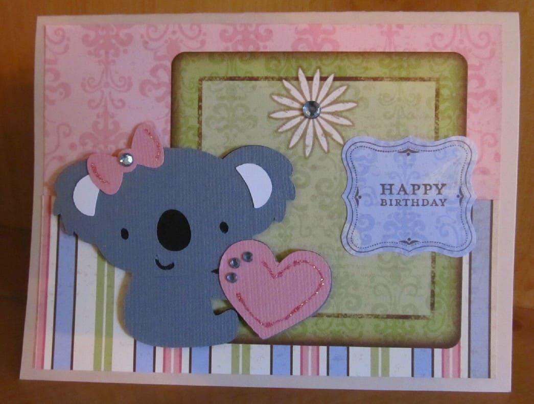 Cricut birthday cards p s i love you crafts