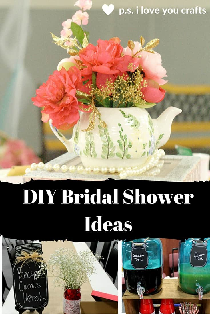 craft ideas for wedding decorations diy bridal shower ideas for a celebration p s i 3158
