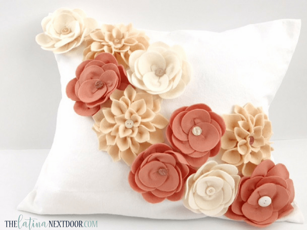 Felt Flowers For Home Decor Or Fashion Accessories P S