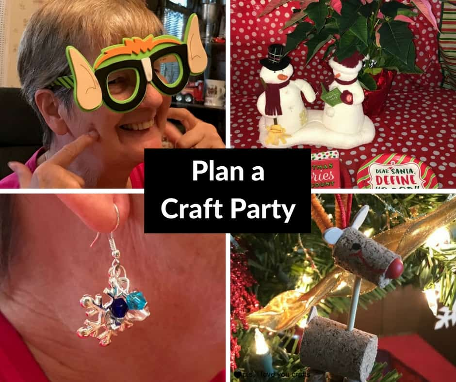 Plan a craft party with oriental trading p s i love you for Plan craft