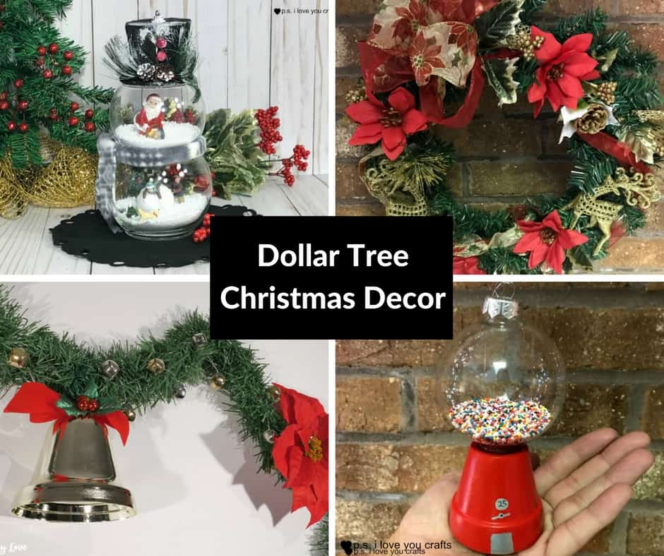 DIY Dollar Tree Christmas Decorations